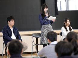 大学合格報告会(全学年)