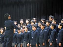 合唱コンクール(中学校)