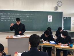 校内ディベート大会(中学校)